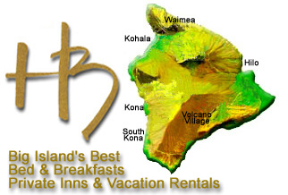 Hawaii Bed & Breakfasts, Private Inns and Vacation Rentals on Maui, Hawaii