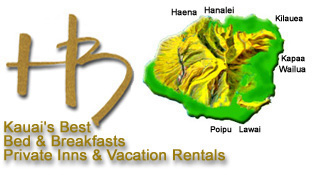 Kauai Bed & Breakfasts, Private Inns and Vacation Rentals on Maui, Hawaii