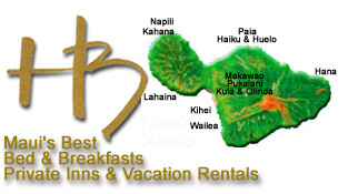 Maui Bed & Breakfasts, Private Inns and Vacation Rentals on Maui, Hawaii