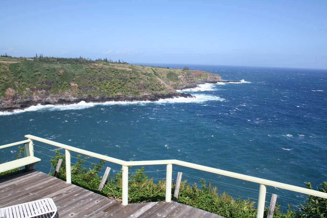 Cliff's Edge Seaside Cottage | Huelo Hawaii Bed and Breakfast